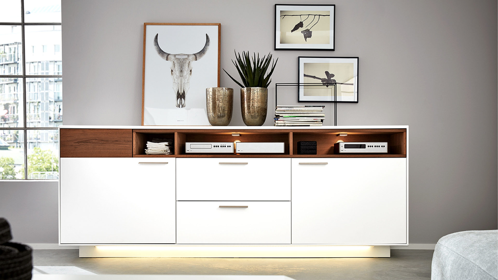Möbel Böck, Räume, Schlafzimmer, Regale + Raumteiler ...