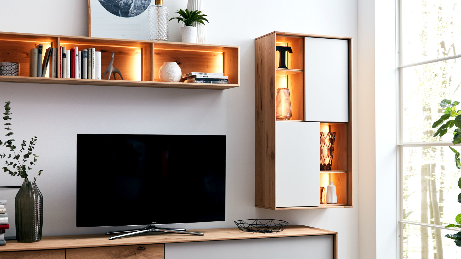 Möbel Böck, Räume, Wohnzimmer, Schränke + Wohnwände ...